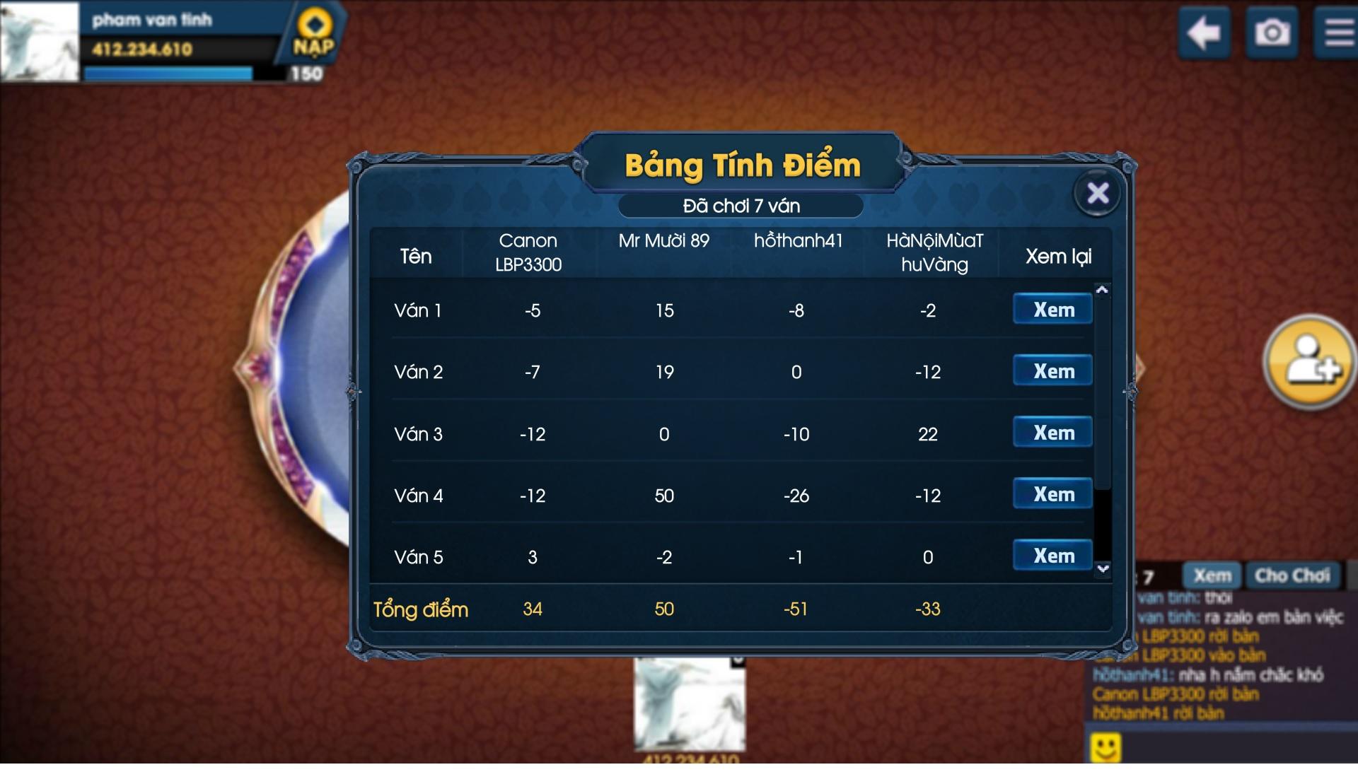 Bang TK 1 ok.