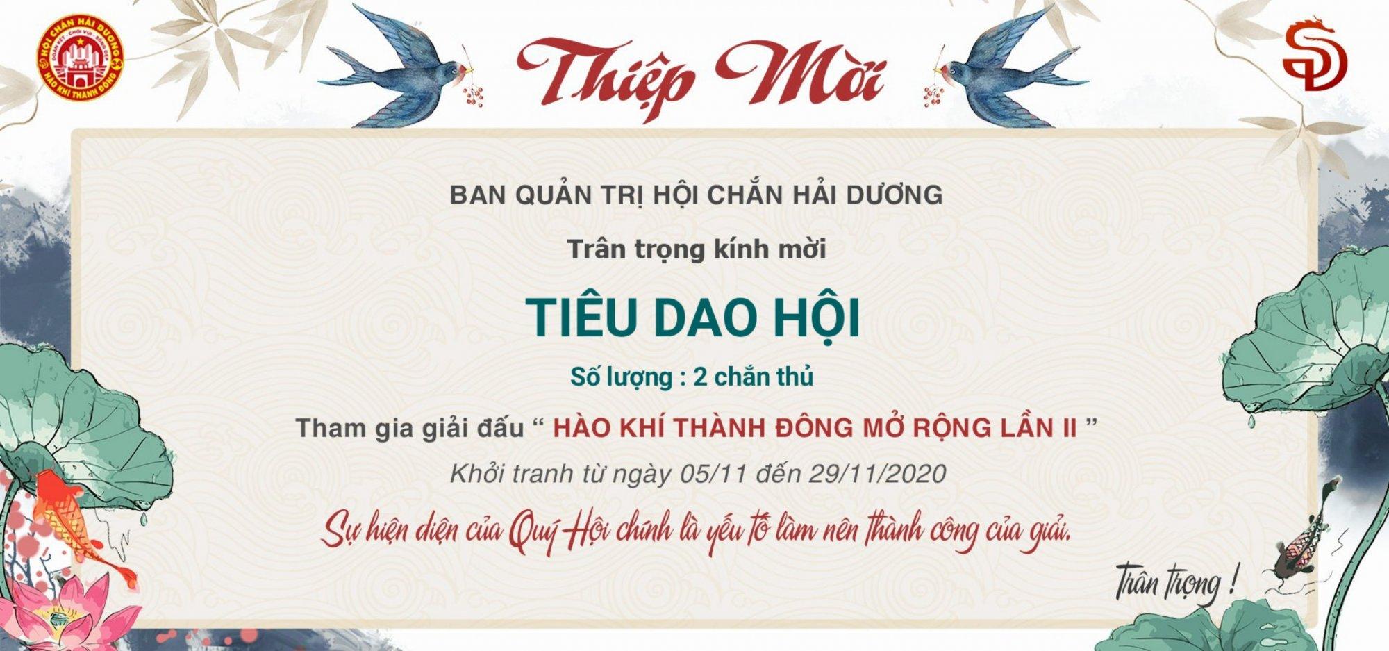 Hào Khí Thàng Đông.