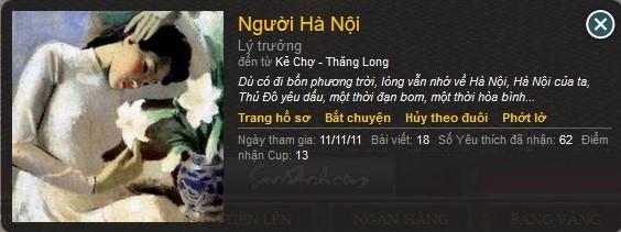 Người Hà Nội.