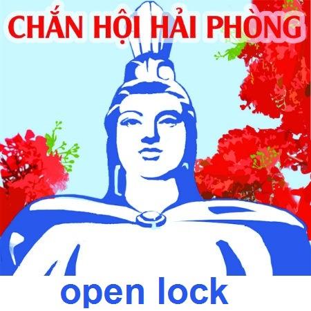 open lock.