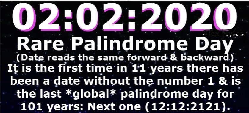 palindromeDay.