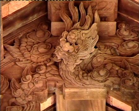 Rồng đỏ thợ Yên Thành tại Đình Sừng - Một di sản kiến trúc văn hóa độc đáo.JPG