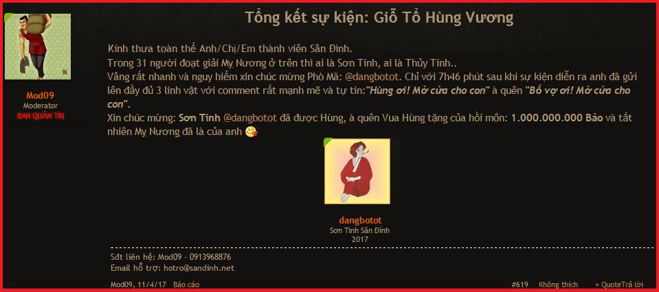 Son Tinh San Dinh.